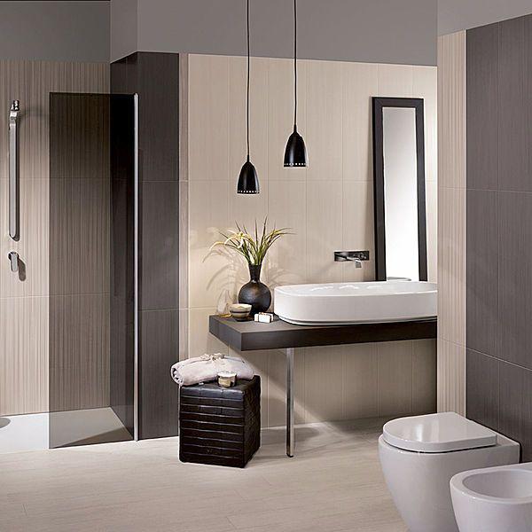 dress up: piastrelle per bagni eleganti e raffinati | cose da ... - Bagni Eleganti Moderni