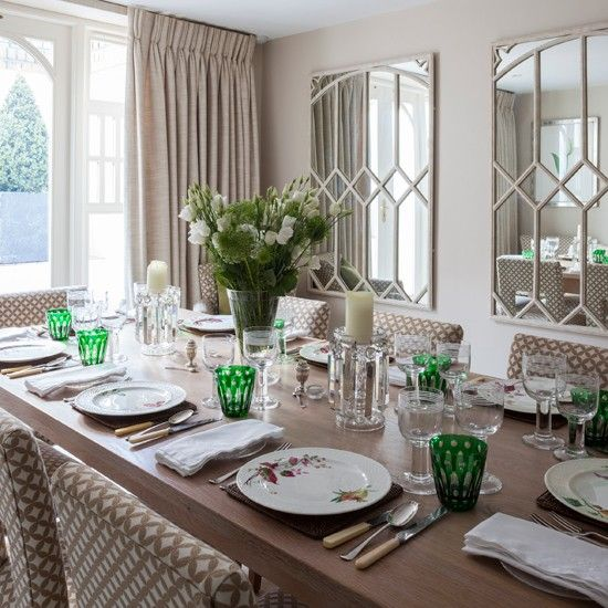 Elegant Dining Room Decorating Ideas Uk On Home Decoration Designing With