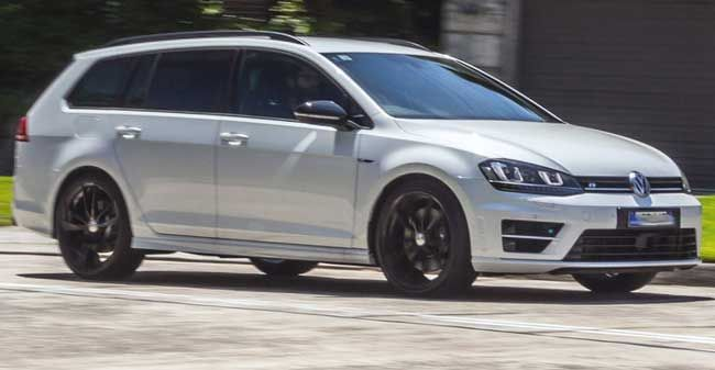 2017 Volkswagen Golf R Estate Aka Wagon Facelift