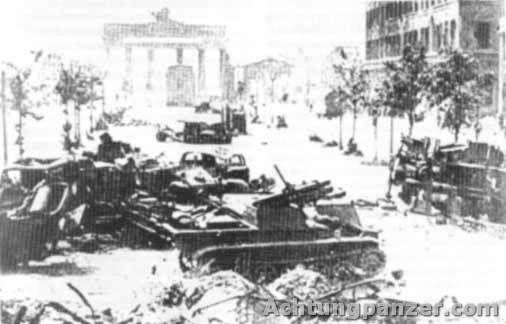 Wanze - Berlin, 1945