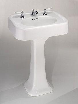 st thomas creations liberty pedestal lavatory sink traditional bathroom sinks vintage tub - Vintage Tub
