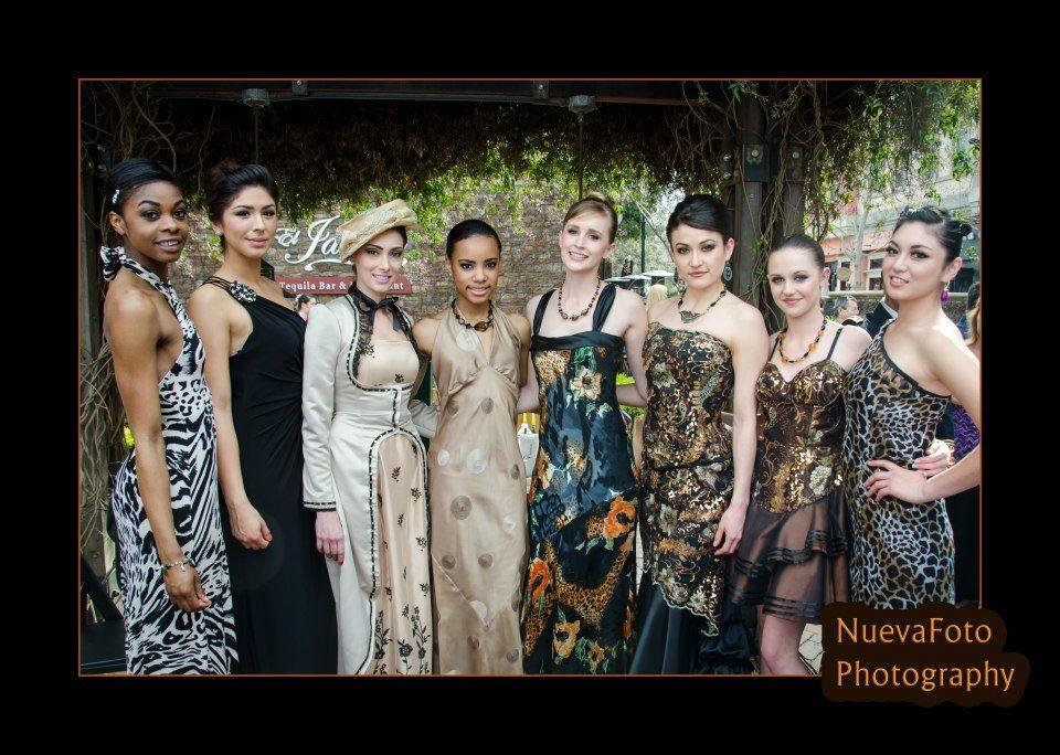 Julie Tanner Designs Fashion, Halter dress, Design