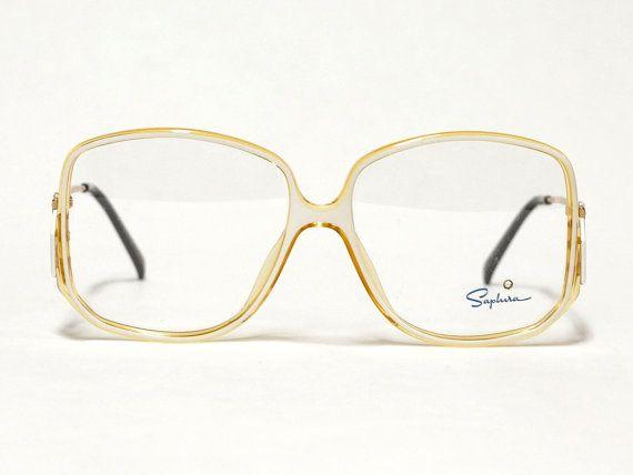 80s Saphira Eyeglass Frame | Vintage Eyewear | German Eyeglasses in ...