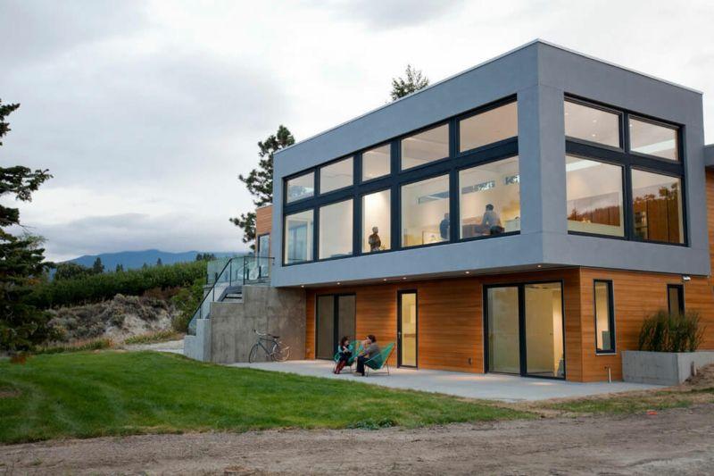Interieur in Weiß und Marmor – Modernes Blockhaus Design | Moderne ...