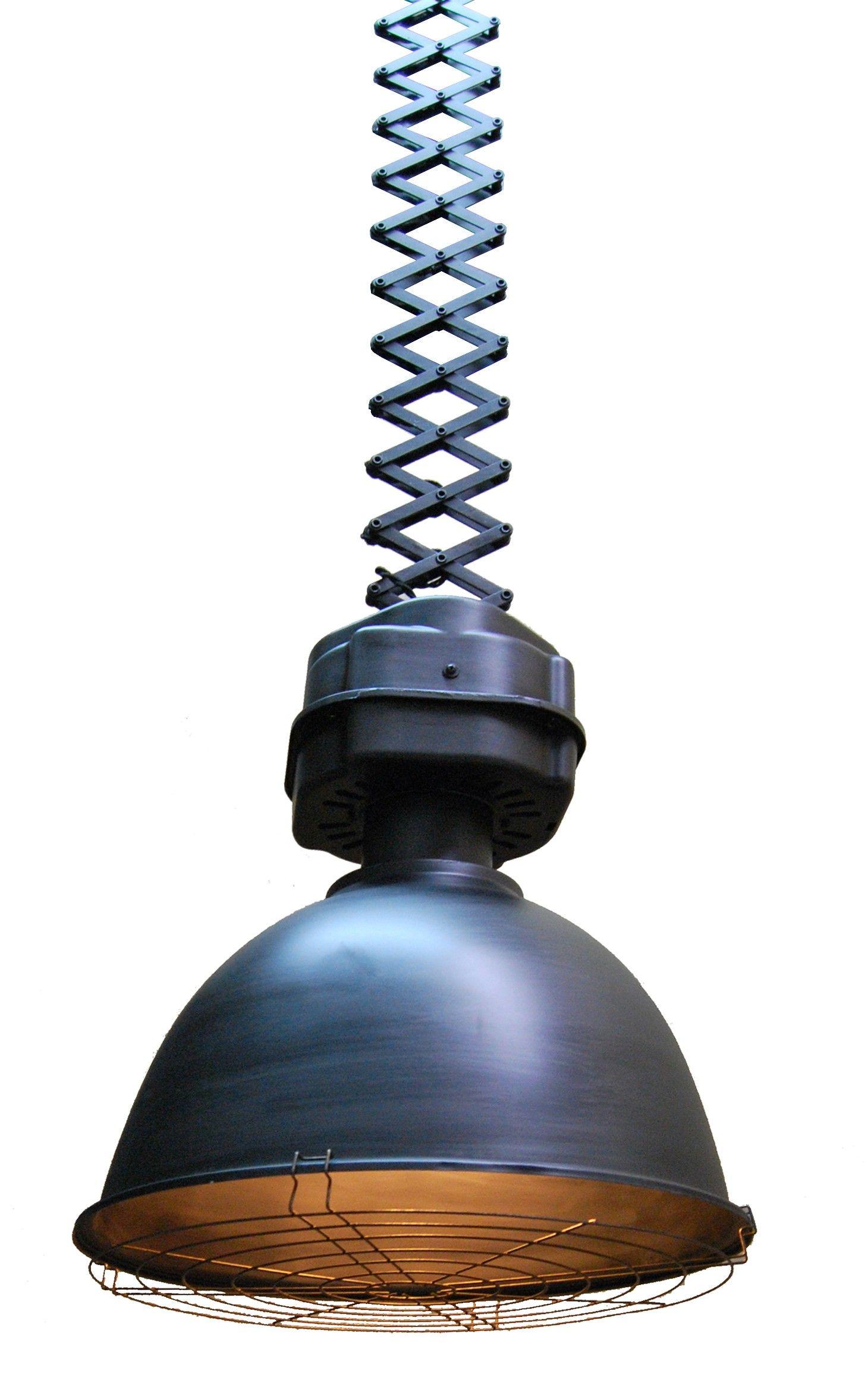 Bar Extensible: Lámpara Colgante Industrial Ballesta