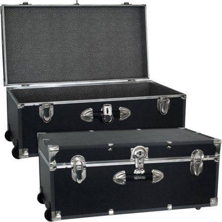 Foot Locker Storage Chest Magnificent Free Shippingbuy Mercury Luggage Seward Trunk Wheeled Storage Design Decoration