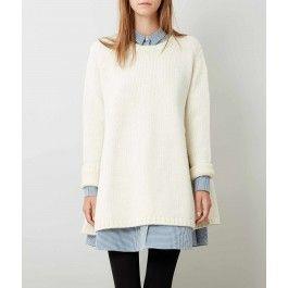 Cream Ives Sweater Dress