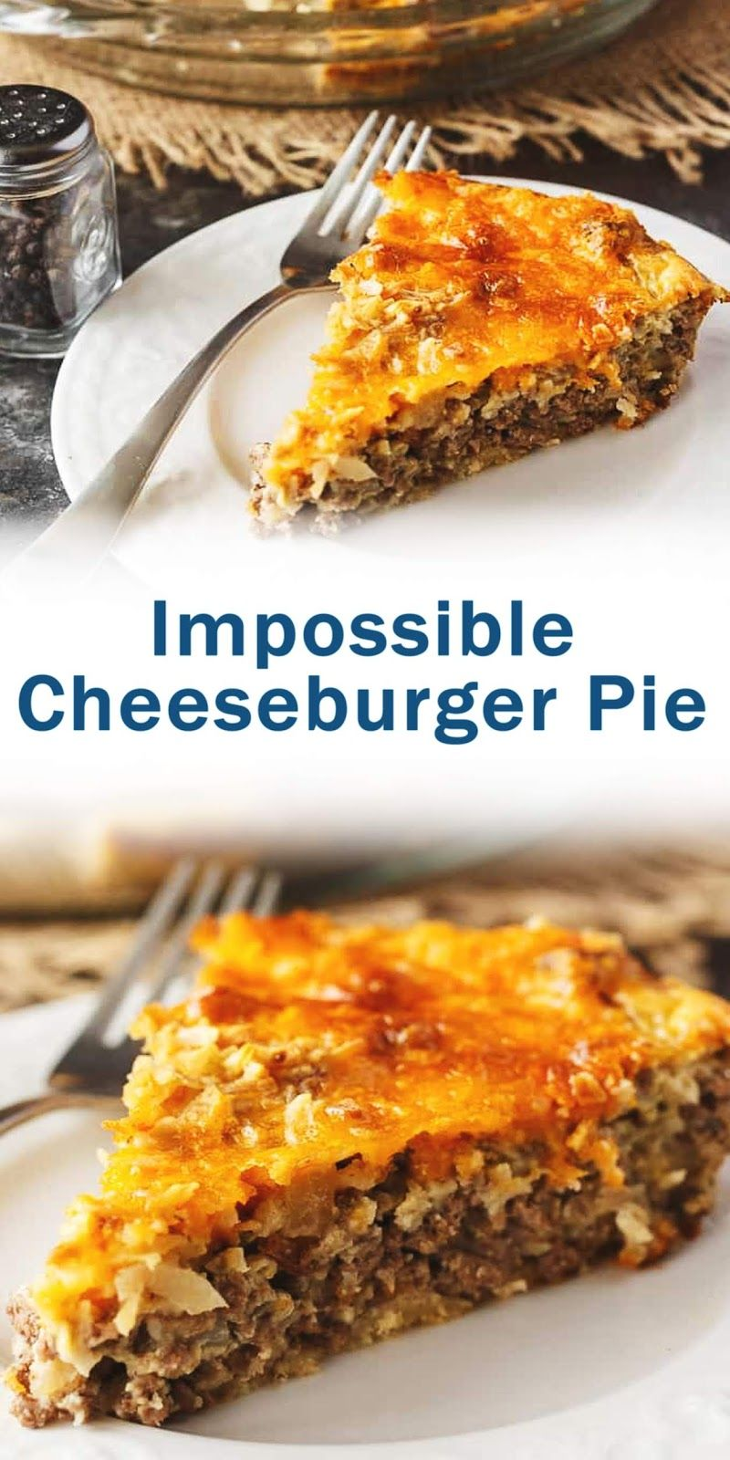 #impossible #cheeseburger #pie #