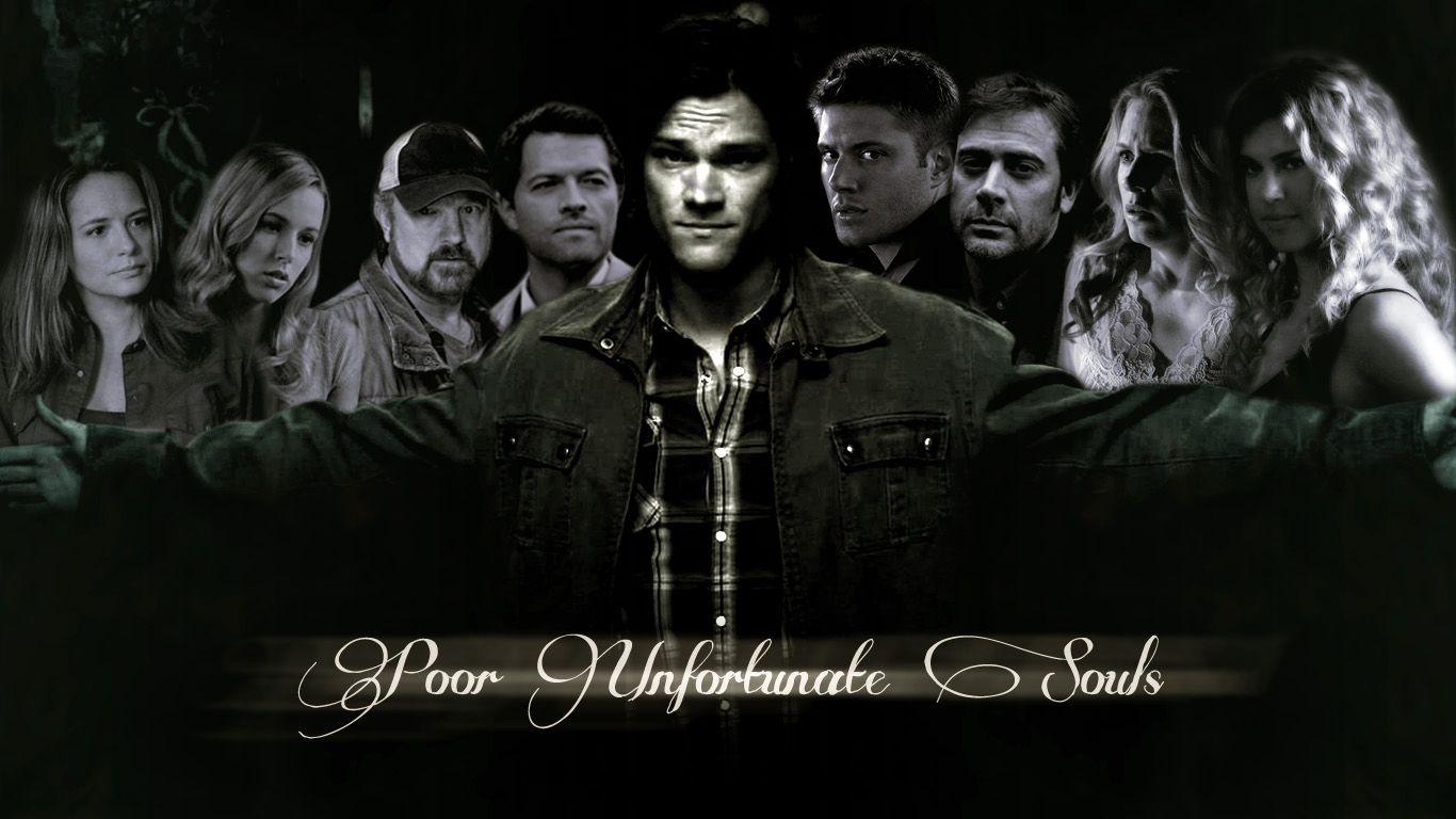Supernatural Cast wallpaper Poor unfortunate souls