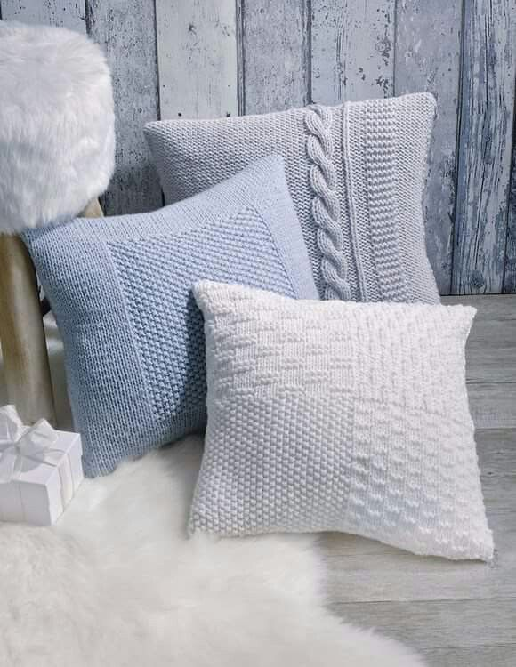 Des cousins tricotés | Mantas tejidas | Pinterest | Almohadones ...