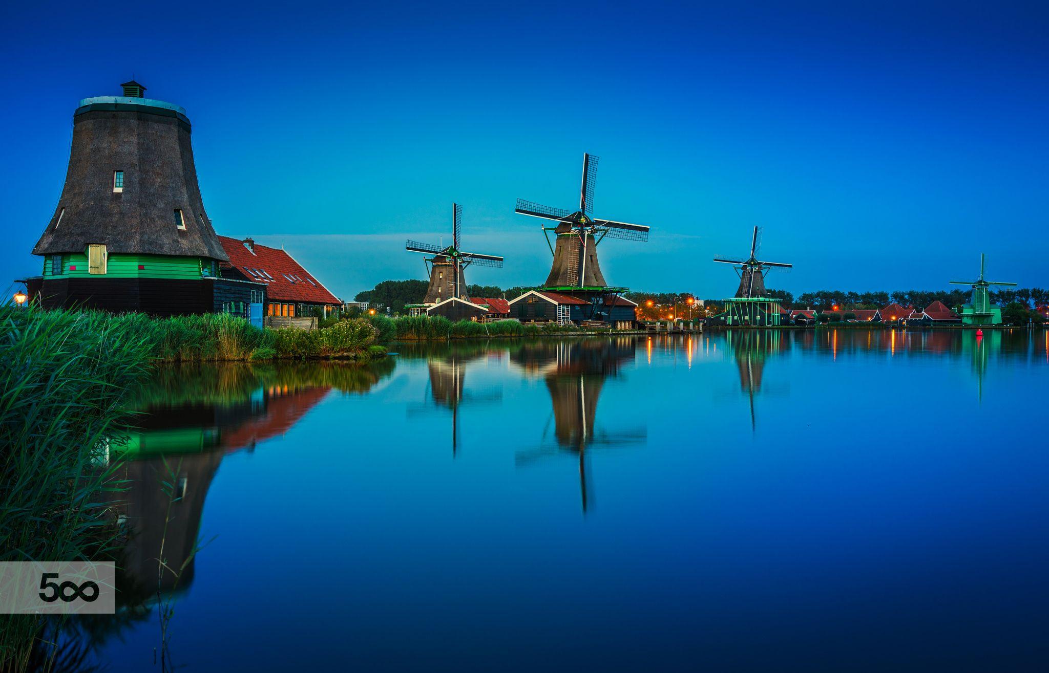Zaanse Schans, Holland. by Remo Scarfò on 500px