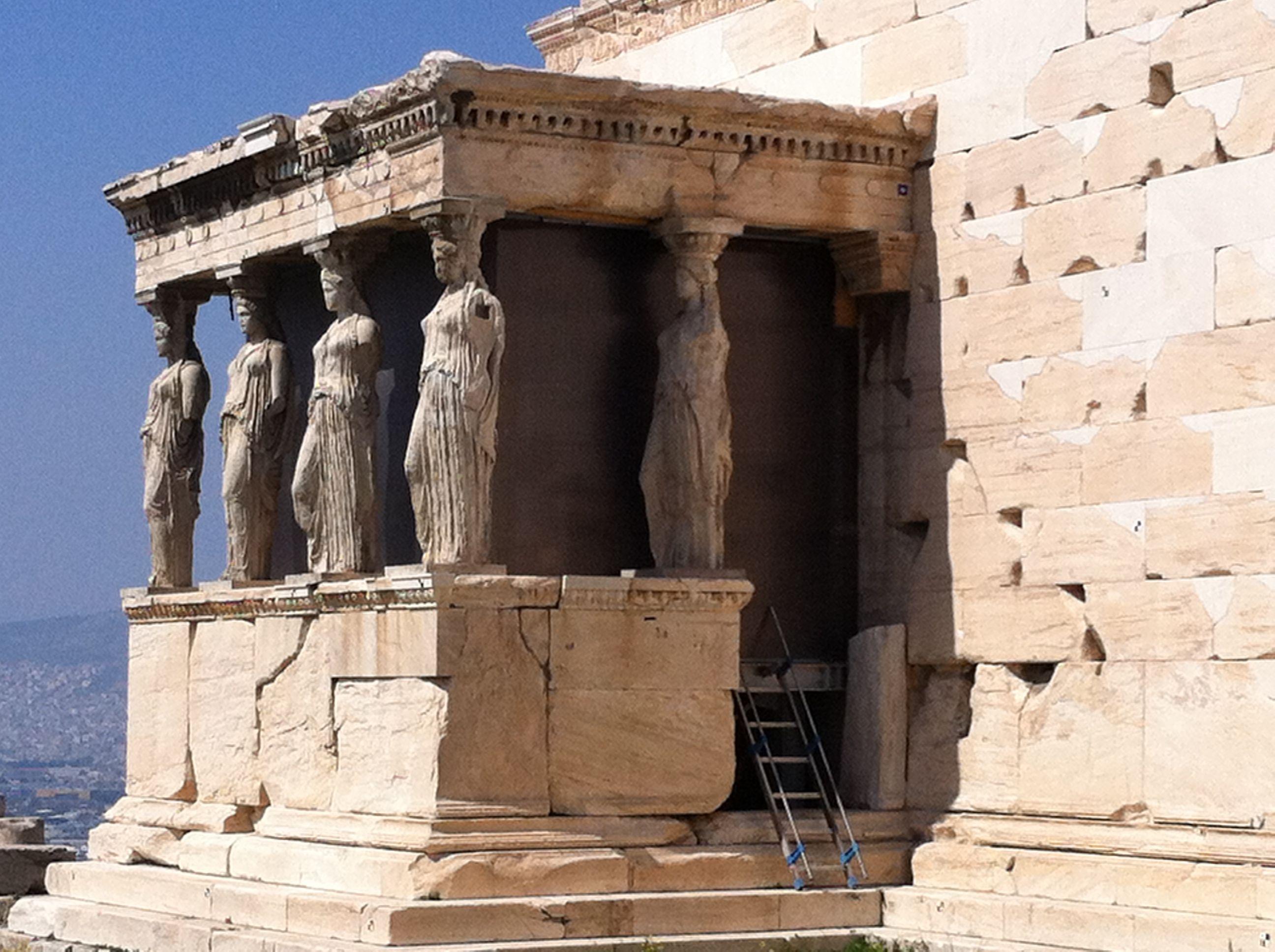 Erecteion (Acrópolis, Atenas, Grecia). #Viajar #viajes #destinos #turismo #atenas #acropolis #partenón #acrópolis #partenon