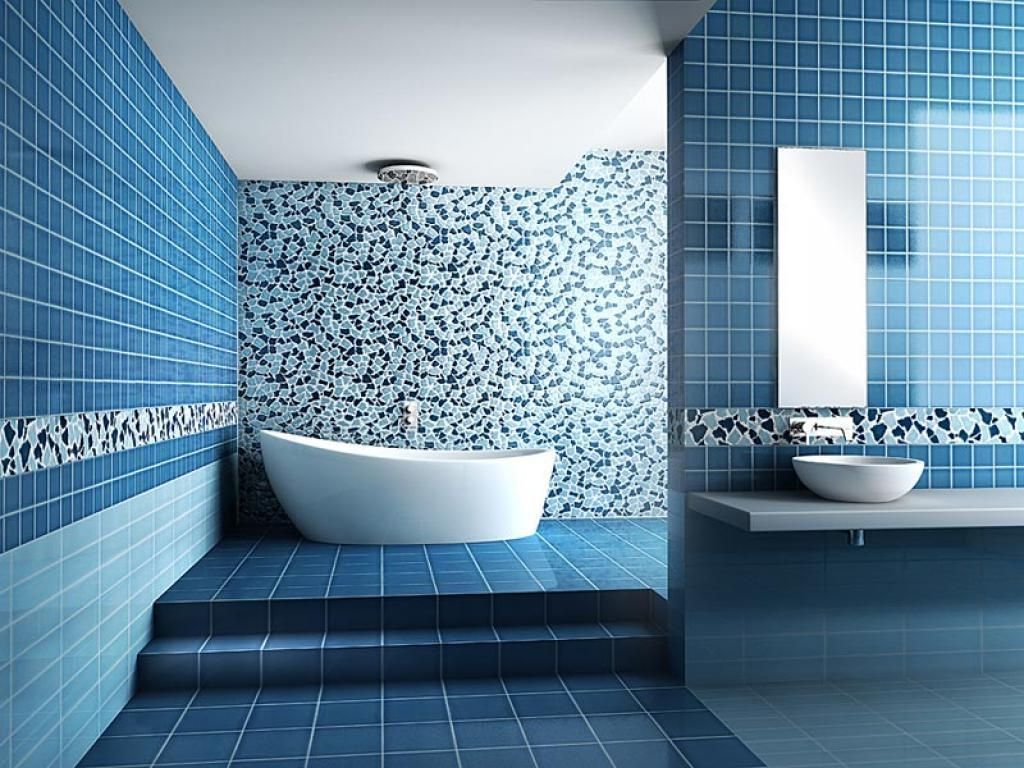 Beautiful And Simple Mosaic Work In A Very Modern Bathroom Hope It Inspires You Like It Disegni Piastrelle Da Bagno Bagno Con Piastrelle Bagni Piastrelle Blu