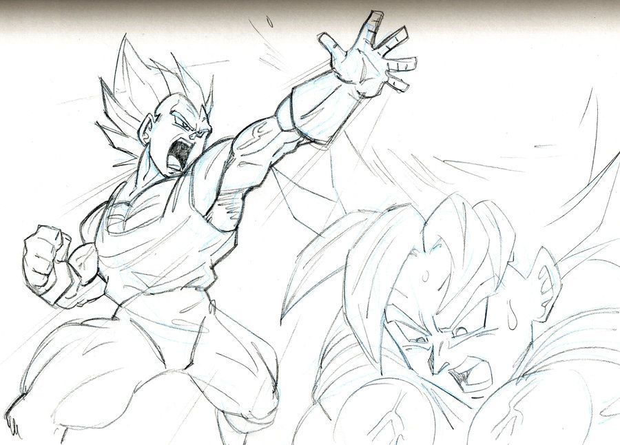 Dragon ball z akira toriyama pencil sketches google search