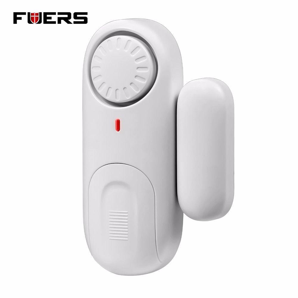 Fuers Work Independently Door Window Sensor Magnetic Switch Home