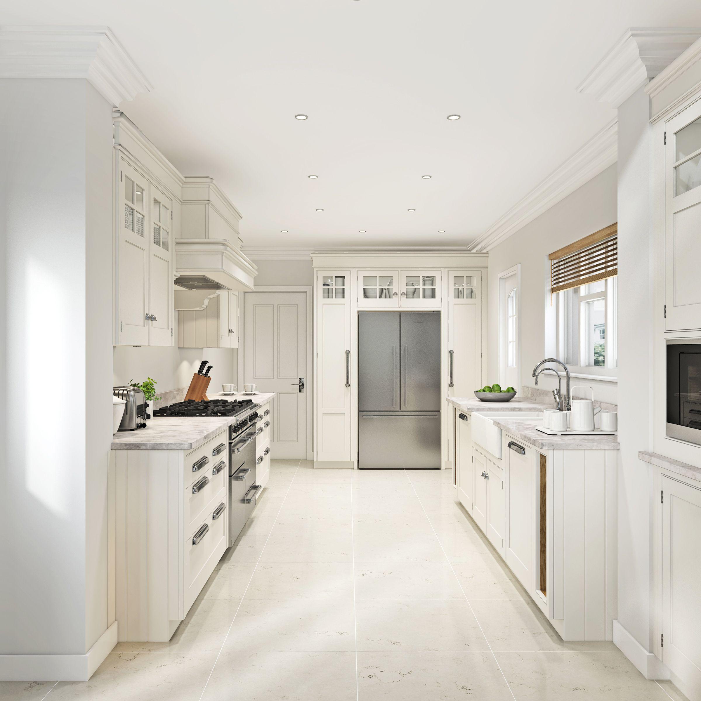 Mark Wilkinson New England Kitchen, CGI