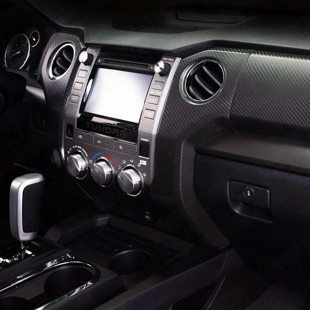 2014 2017 Tundra Carbon Fiber Molded Dash Kit 2015 Tundra Tundra Toyota Tundra