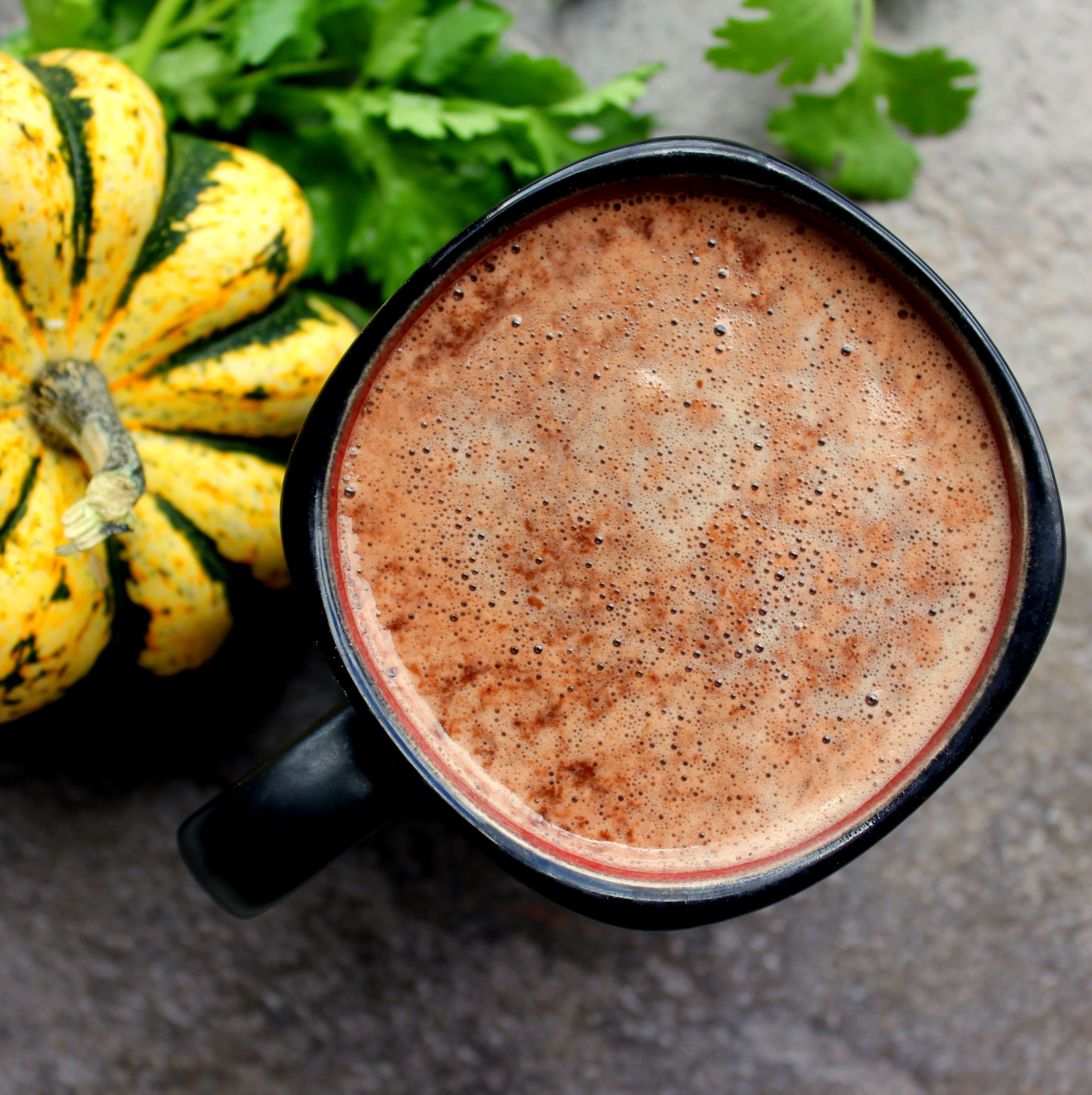 Homemade Pumpkin Spice Latte: 1 Cup Unsweetened Coconut
