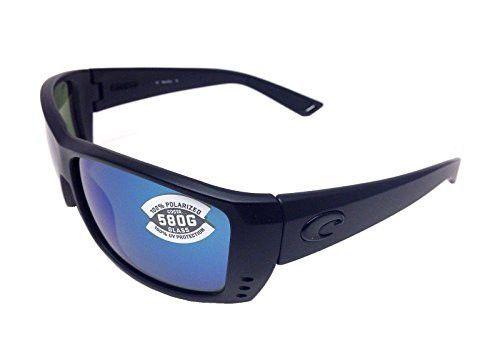 8f3c6c5726 New Costa Del Mar Cat Cay 580G Blackout Blue Mirrror Polarized Lens 60mm  Sunglasses
