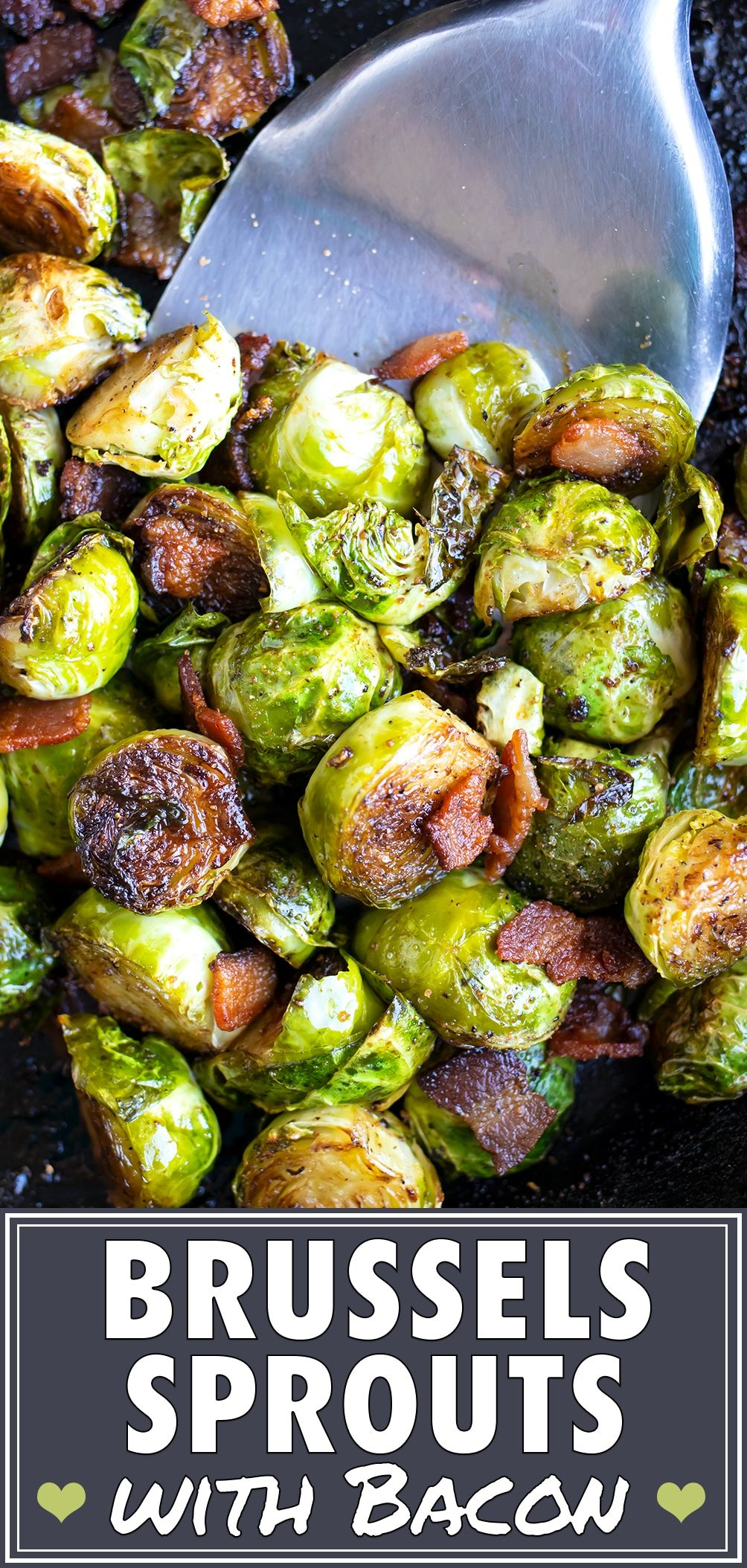 Crispy Brussels Sprouts With Bacon Evolving Table Recipe Sprouts With Bacon Brussel Sprouts Crispy Brussel Sprouts