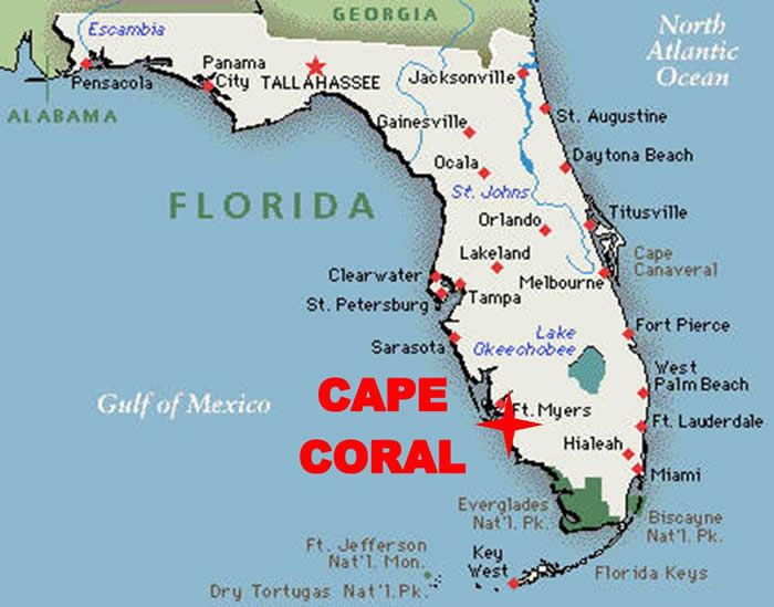 Cape Coral Has More Miles Of Canals Than Any Other City In The