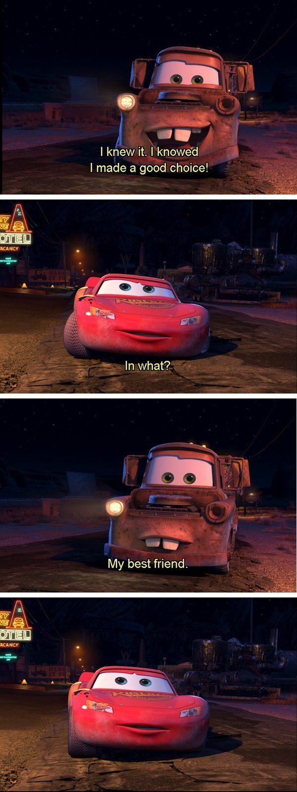 CarsI love this movie Cars movie quotes, Cars movie