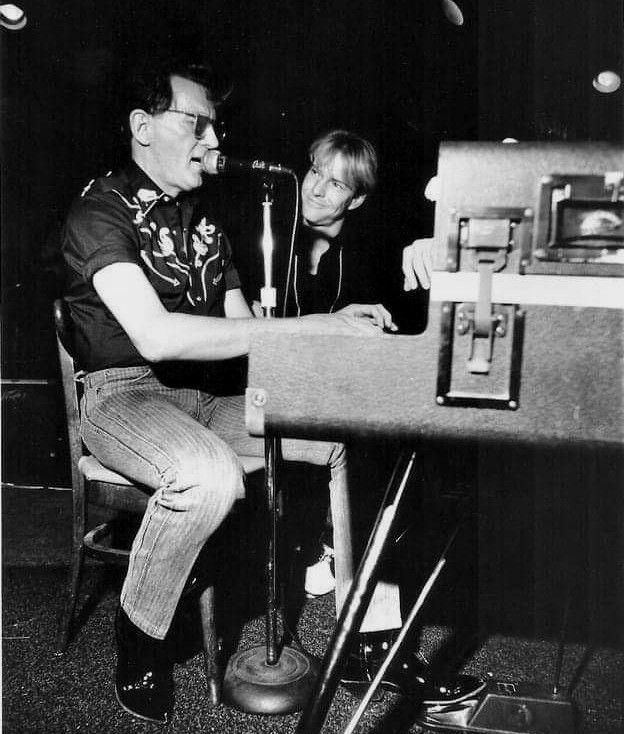 December 3 1988 Dennis Quaid Studies Jerry Lee Lewis Performing At Bad Bob Vapors In Memphis