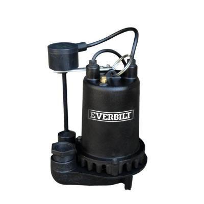Everbilt 3 4 Hp Professional Sump Pump Pssp07501vd Sump Pump