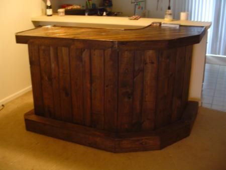 Wrap Around Bar J Shaped Do It Yourself Home Projects From