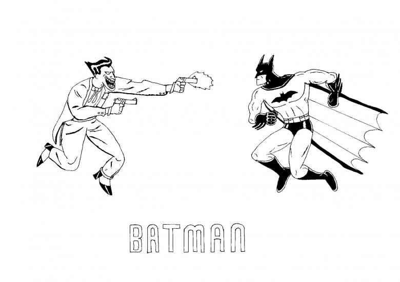 Batman 29 Ausmalbilder