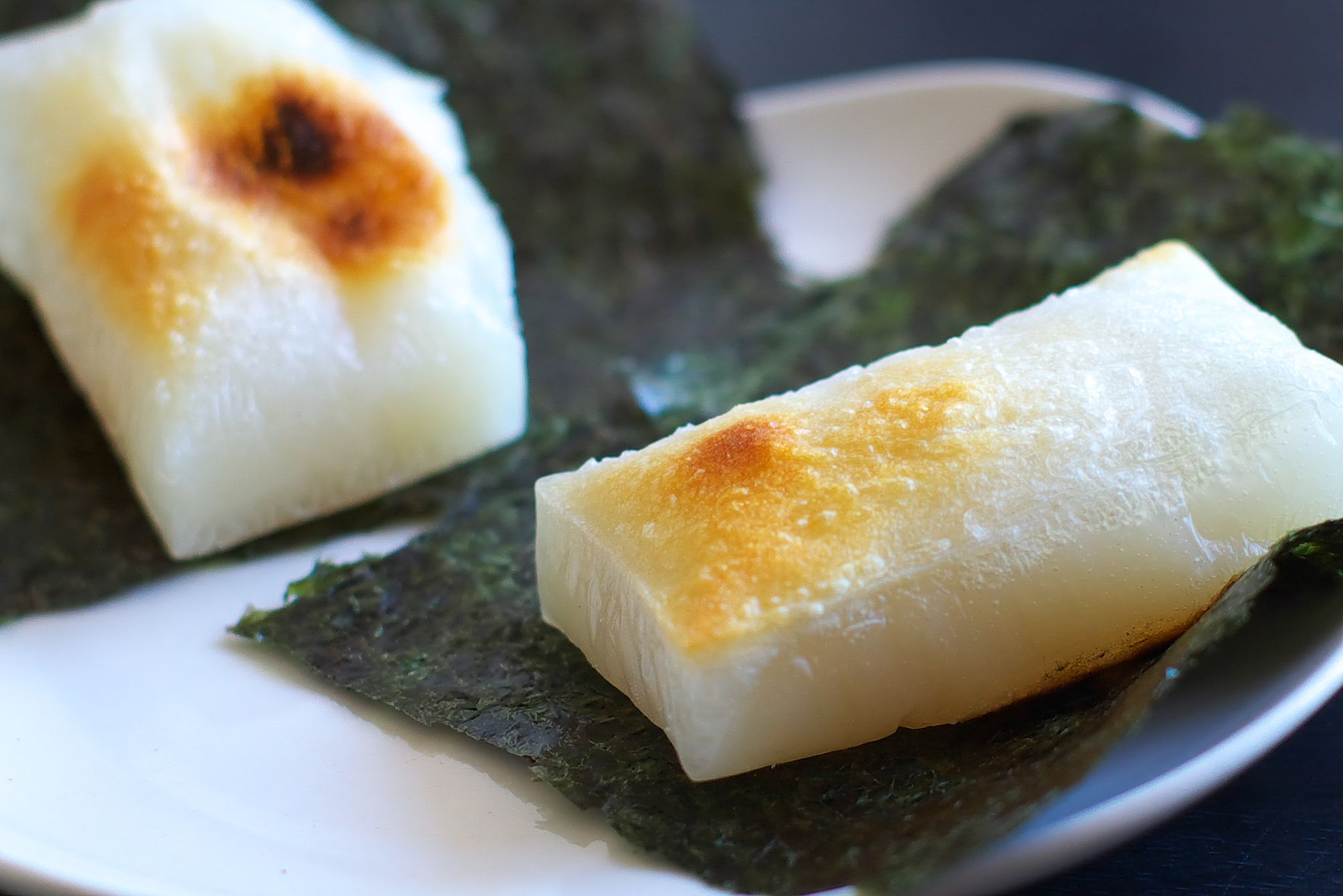 This is a Japanese rice cake.