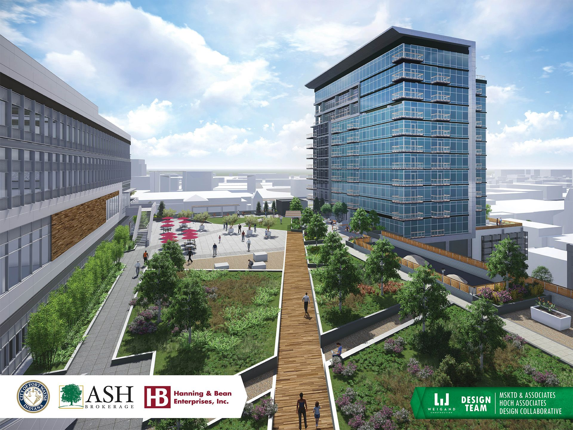 The Ash Brokerage project known as 'Emerald Skyline' is