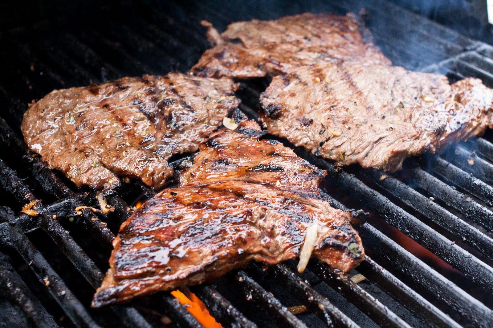 Carne Asada on The Grill Carne Asada on The Grill