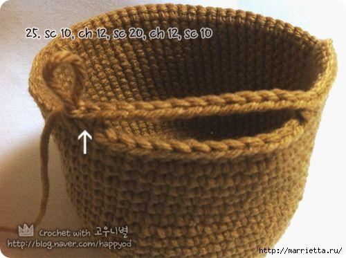Картинки по запросу сумочка-корзинка СХЕМА