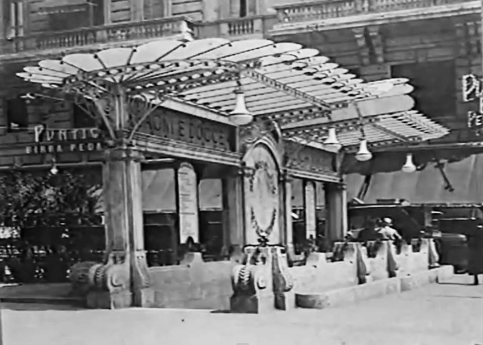 Bagni pubblici Liberty - Vintage Milano