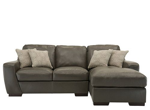 Carpenter 2 Pc Leather Sectional Sofa Sectional Sofas Raymour