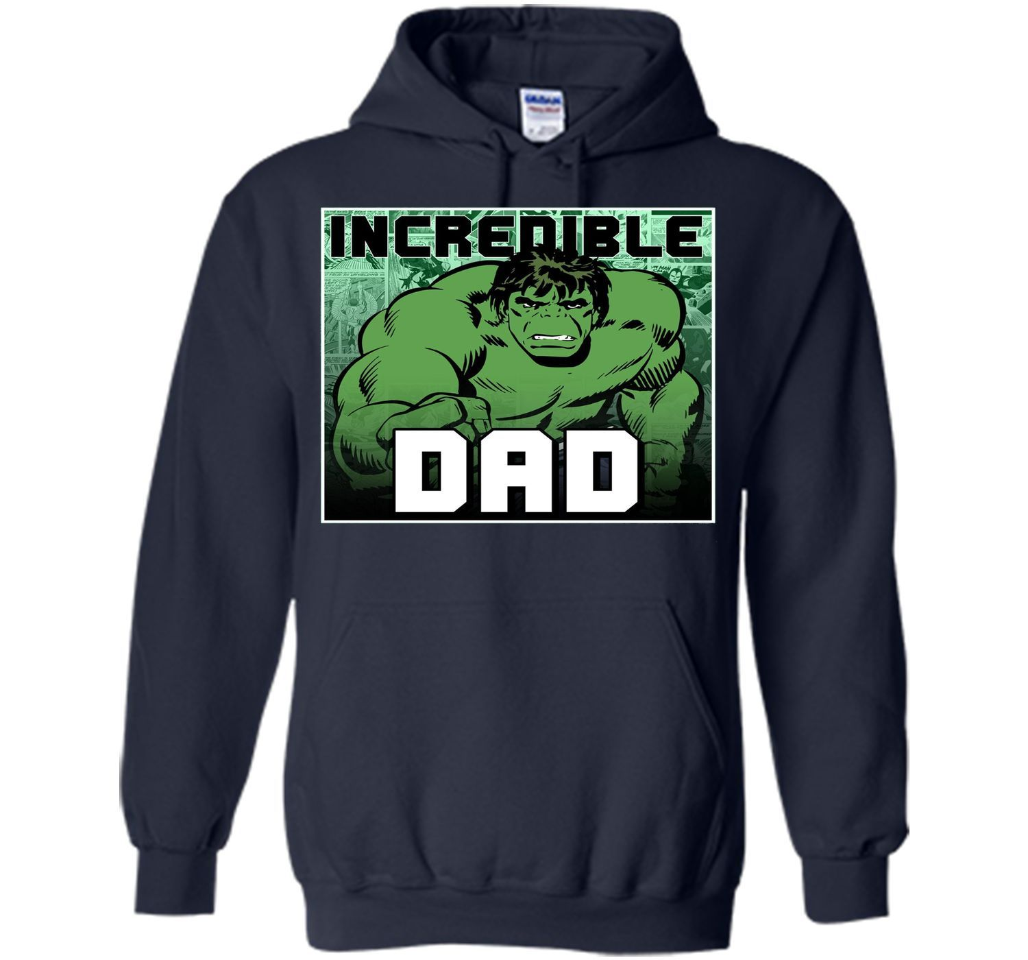 Marvel Hulk Father's Day Incredible Dad Graphic T-Shirt