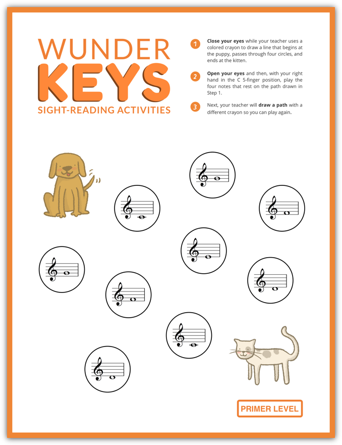 Home WunderKeys Piano Books and Resources Free piano