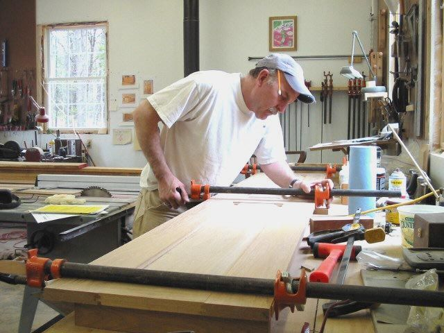 Exceptional Lary Shaffer, The Owner Of Scarborough Marsh Fine Furniture. My Cozy  Woodshop Is In