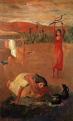 Juan Carlos Castagnino,patio Santiagueño,1941