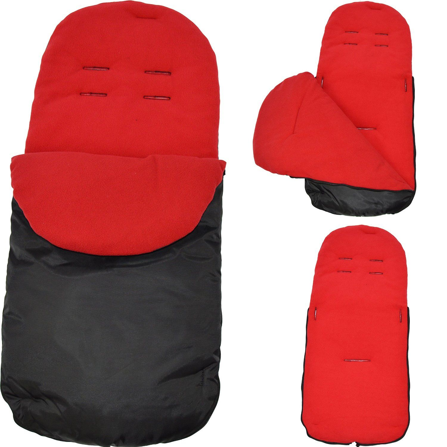 Universal Footmuff to Fit Uppababy Red: Amazon.co.uk: Baby