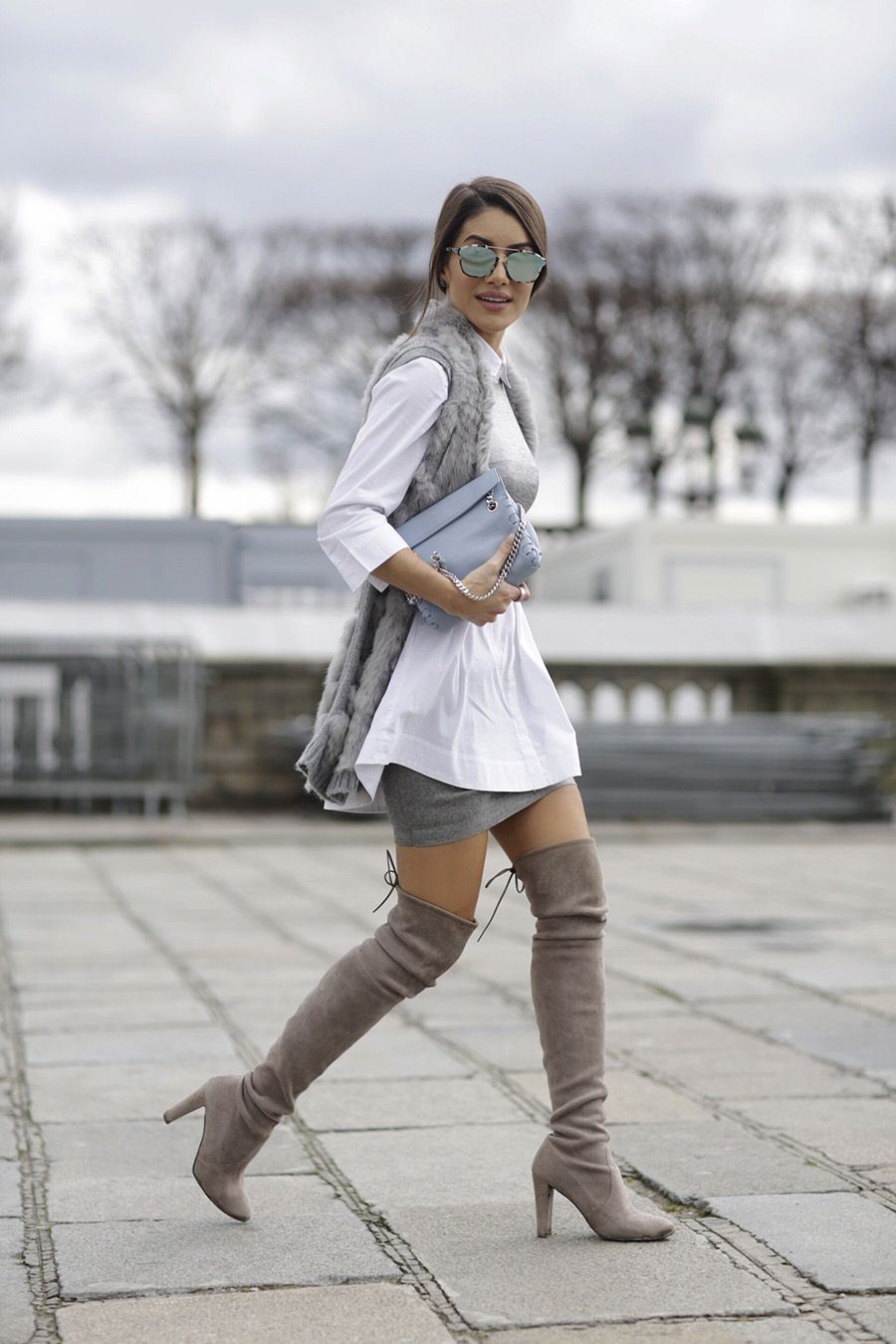 Thigh High Boots Outfits | Who What Wear UK
