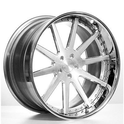 Set4 24 Ac Forged Wheels Rims Acr410 3 Piece Forged Wheels Rims Wheel Rims