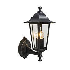 Außenleuchte New Orleans up schwarz - #Lampe #Außenbeleuchtung #Gartenbeleuchtung #Wandleuchte