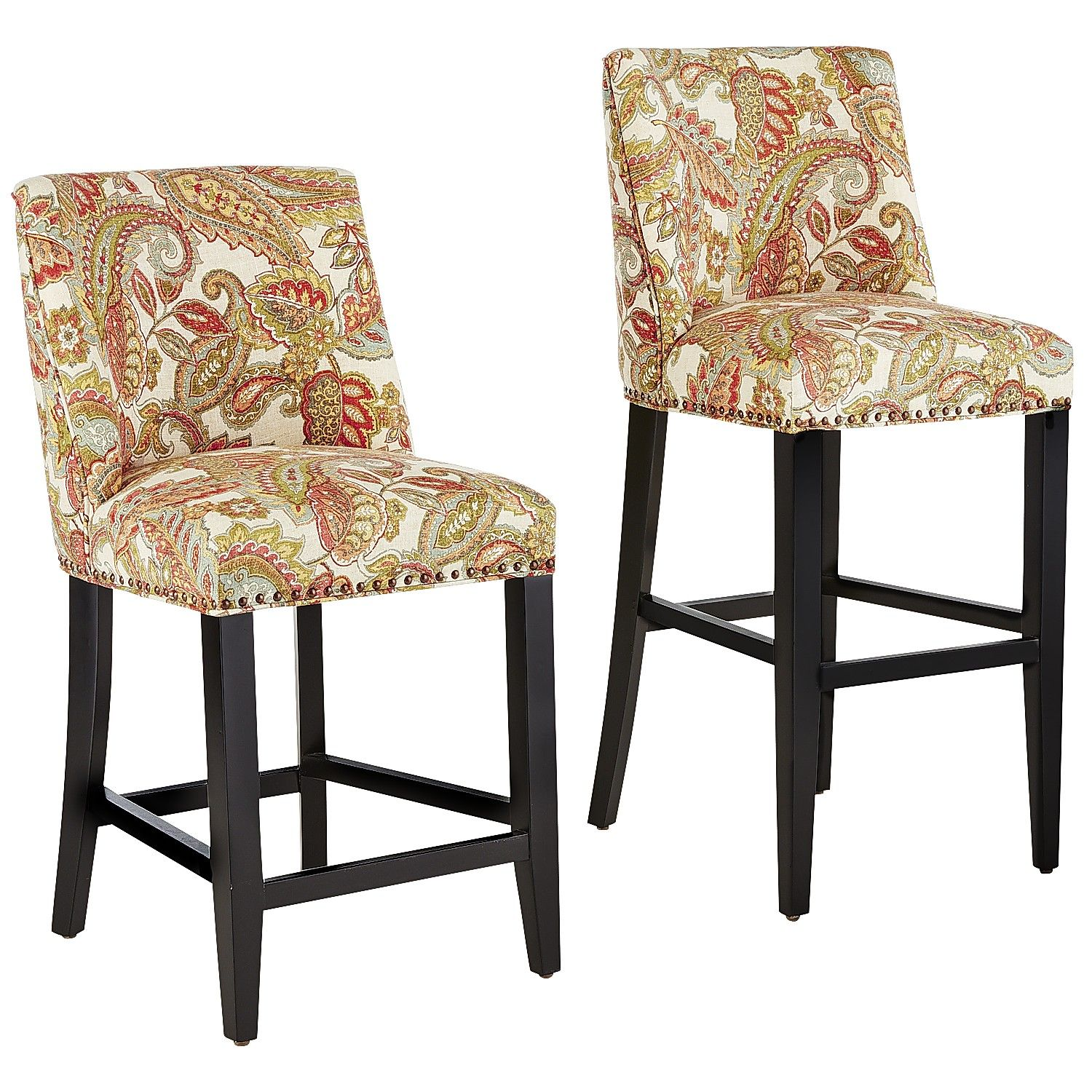 Payless Furniture Store Dining Room Tables: Multi-colored Corinne Bar & Counter Stools