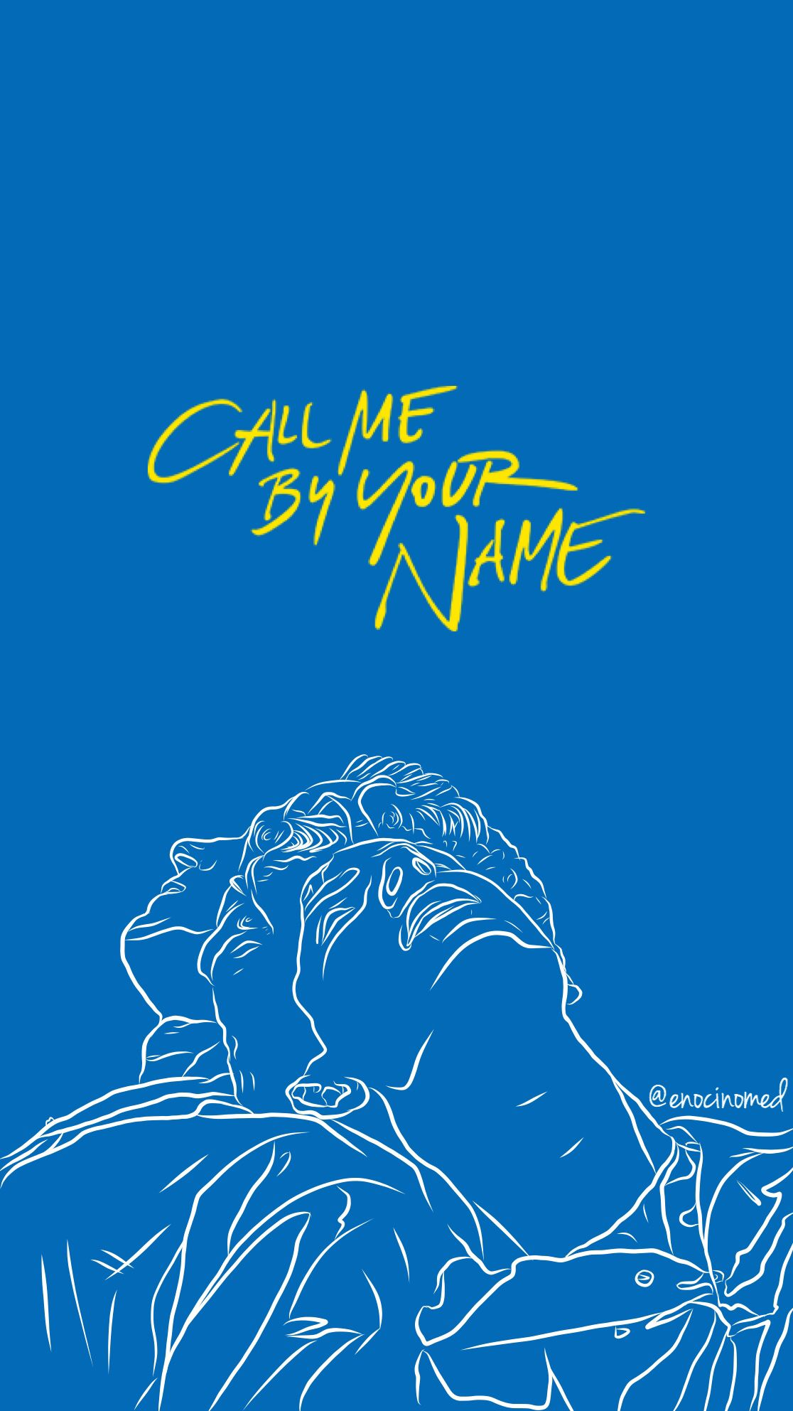 Call Me By Your Name Wallpaper Elio And Oliver Enocinomed