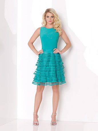 Adorable short dress for Spring! This would be a cute shower or ...
