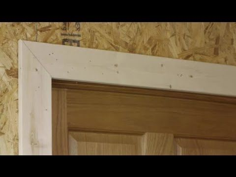 How To Install Door Trim On A Jamb That Is Not Square Trim Installatio Diy Interior Doors Building A Door Exterior Door Frame