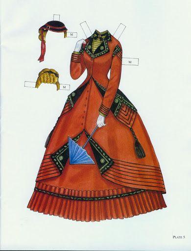 Godey's Fashion Paper Dolls 1860-1879 (Ming-Ju Sun) – INMACULADA R. L – Picasa Nettalbum