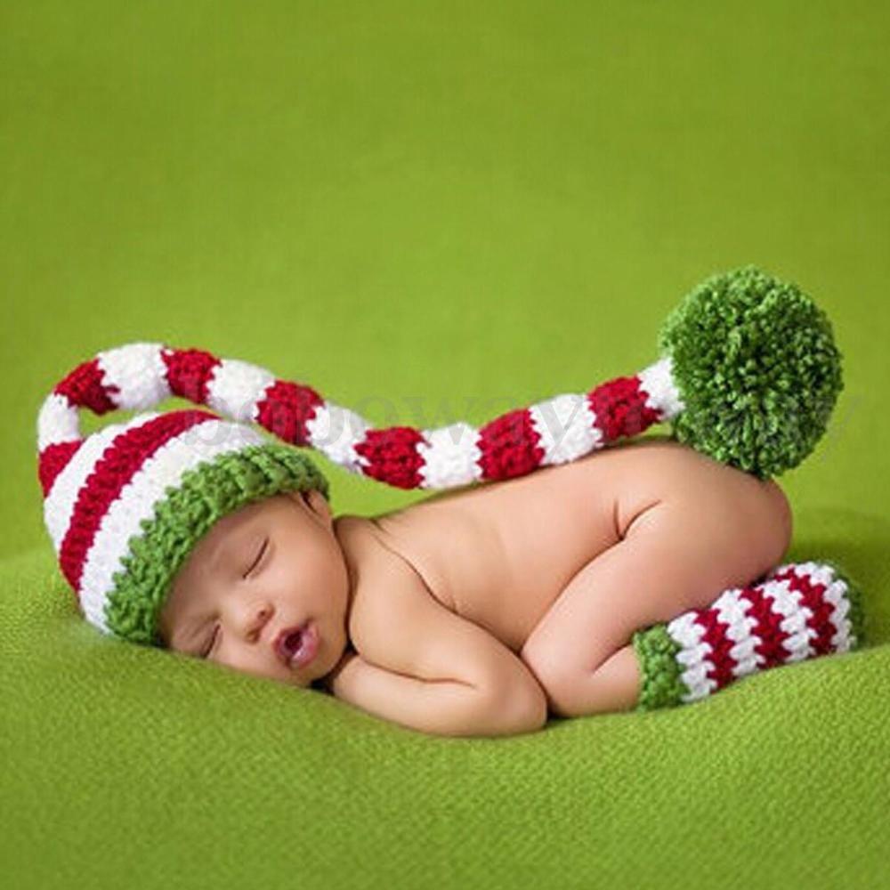 14 Style Fotoshooting Baby Fotografie Strick Mütze Kostüm Häkel ...